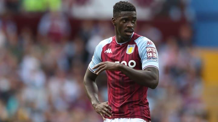 Axel Tuanzebe is on loan with Aston Villa
