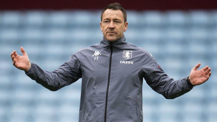John Terry has left Aston Villa