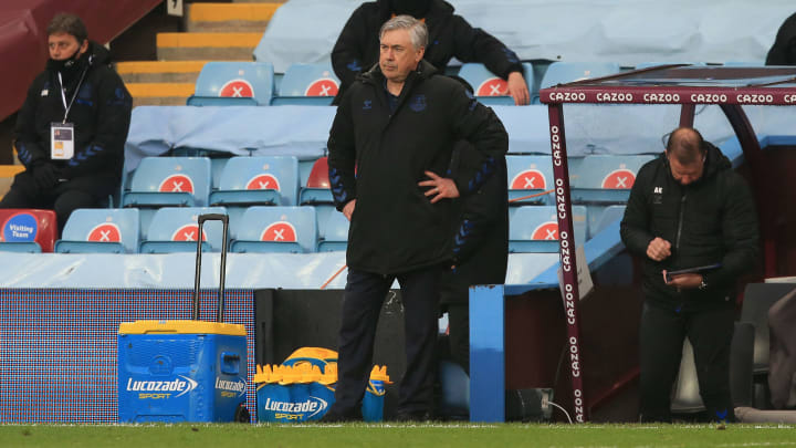 Carlo Ancelotti has lost patience with some of his Everton squad