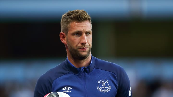 Maarten Stekelenburg will see out the season with Everton.