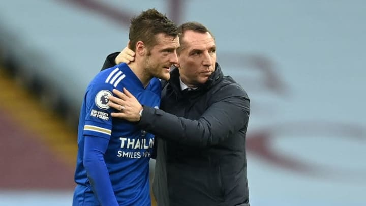 Brendan Rodgers will be looking to Jamie Vardy to fire his team through to the next round