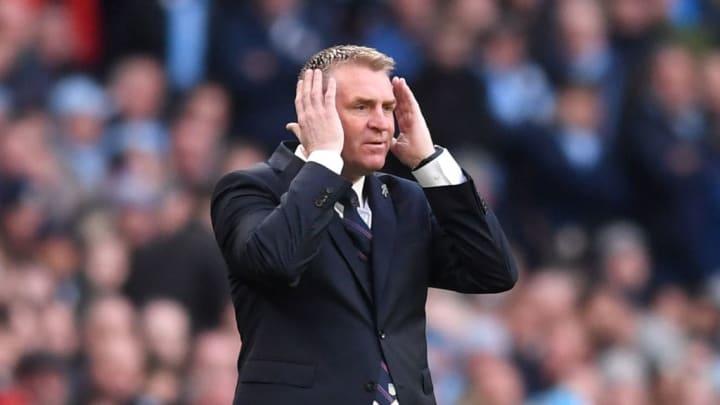 Aston Villa's Dean Smith.