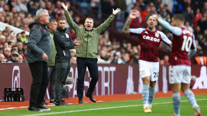 Aston Villa manager Dean Smith had more cause for celebration after an improved performance in his side's victory over Newcastle