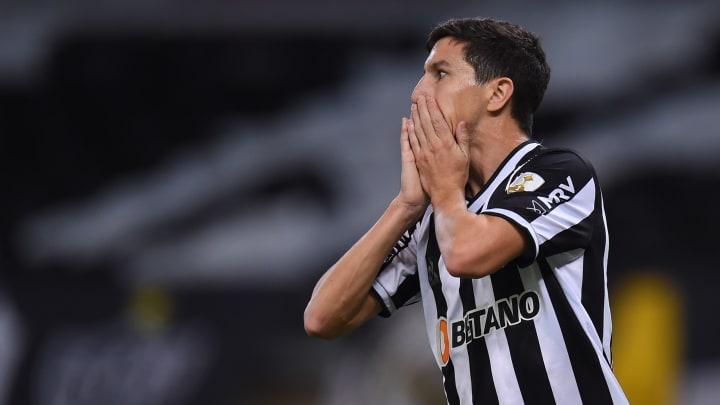 Nacho Fernández anotou o gol que decidiu a vitória do Galo