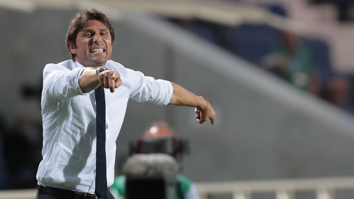 Conte is under pressure from the Inter board