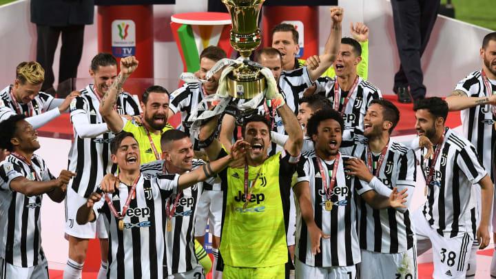 Juventus conquistou a Copa Itália ao bater a Atalanta por 2 a 1