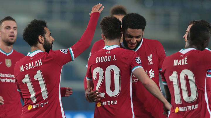 Diogo Jota was the star man for Liverpool against Atalanta