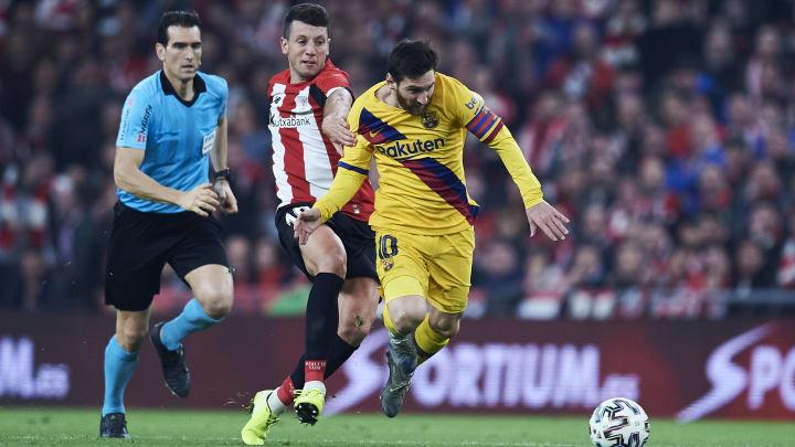 Mikel Vesga, Lionel Messi