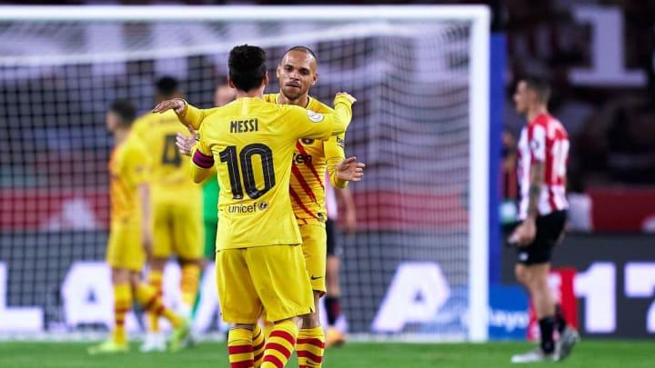 Lionel Messi, Martin Braithwaite