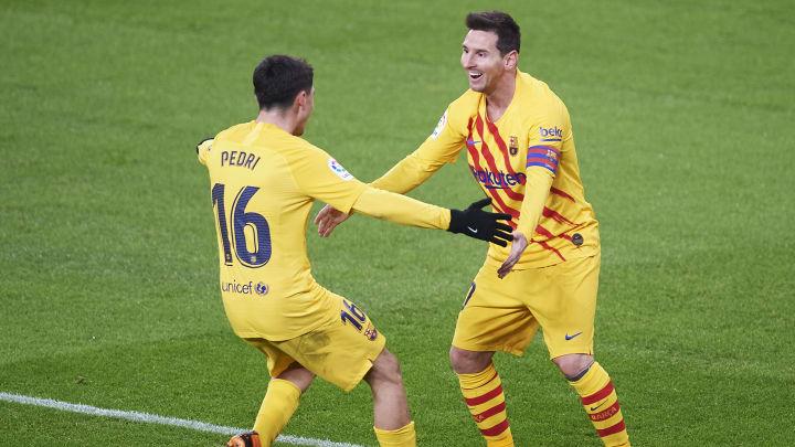 Ronald Koeman Delighted to See Lionel Messi & Pedri Team ...