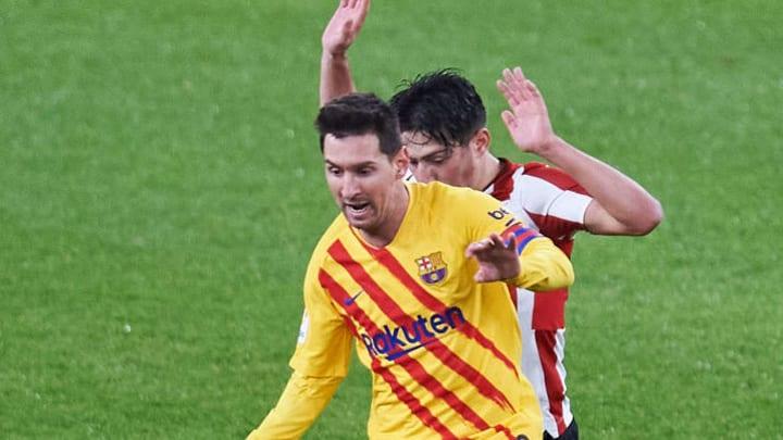 Lionel Messi, Unai Vencedor