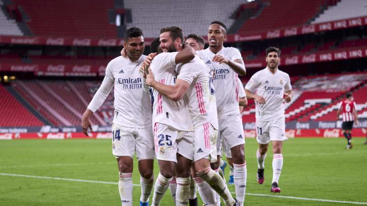 Nacho marcó el gol del Real Madrid