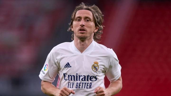 Luka Modric Tottenham Real Madrid