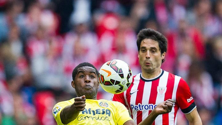 Campbell spent the second half of the 2014/15 season on loan at Villarreal