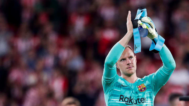 Ter Stegen has won four La Liga titles, four Spanish Cups and the Champions League during his six seasons at Barcelona
