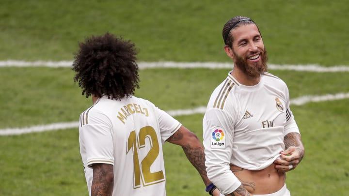Marcelo y Sergio Ramos, jugadores del Real Madrid