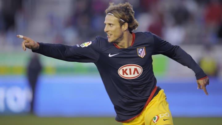 Athletico Madrid's Uruguayan Diego Forla