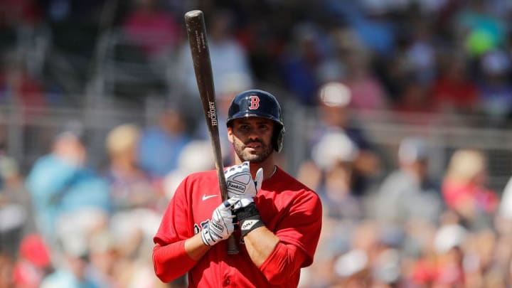Boston slugger J.D. Martinez has been one of the best hitters in baseball since signing with the Red Sox.