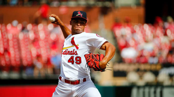 St Louis Cardinals reliever Jordan Hicks