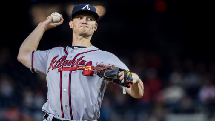 Atlanta Braves right-hander Mike Soroka