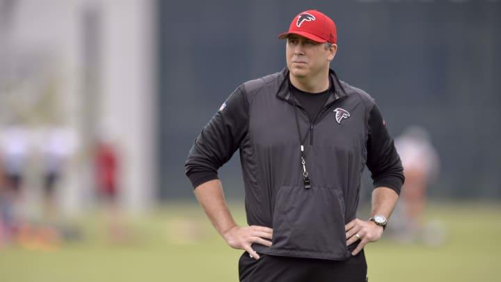 Atlanta Falcons head coach Arthur Smith revealed the team's plans to address backup QB after A.J. McCarron's injury.