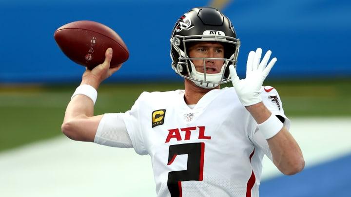 Most likely trade destinations for Atlanta Falcons quarterback Matt Ryan.