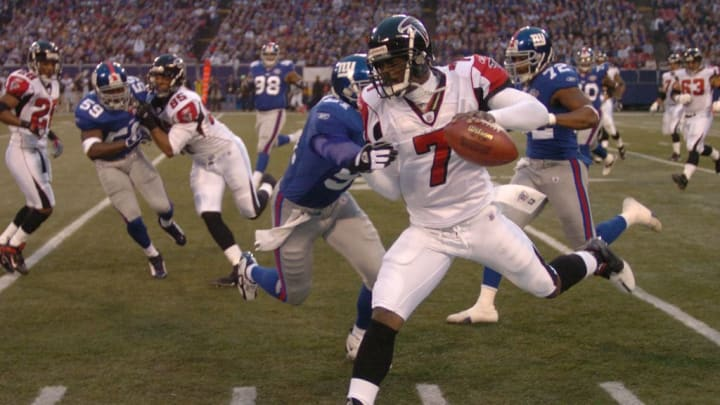 Former Atlanta Falcons QB Michael Vick was a huge star when he graced the cover.