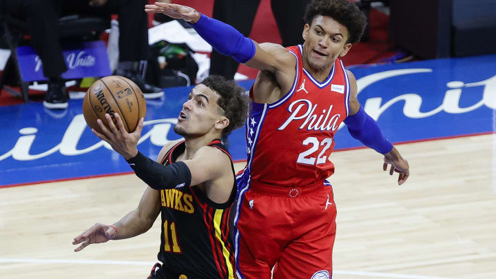 Trae Young torched the Sixers in Game 1.