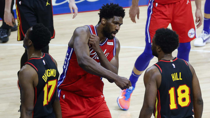 Joel Embiid needs to step up and will.