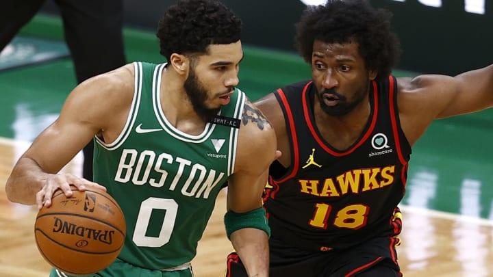 NBA FanDuel fantasy basketball picks for tonight 2/19/21, including Jayson Tatum.