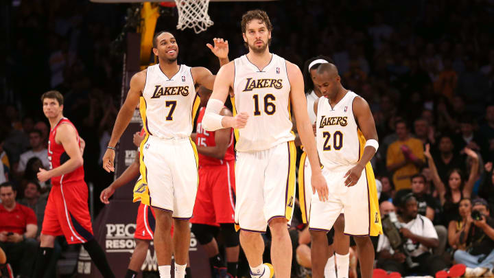 Pau Gasol may be the veteran leader the Lakers need to bring an NBA trophy back to LA.