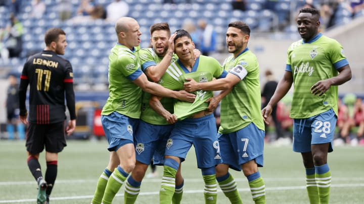 Seattle Sounders FC remain unbeaten in seven games, leading the Western Conference