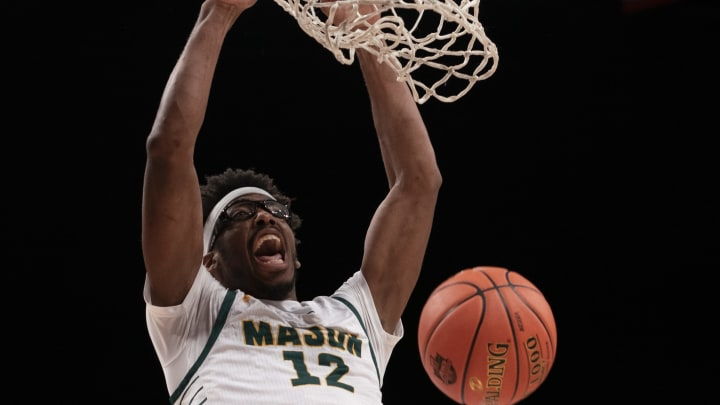 George Washington vs George Mason prediction and college basketball pick straight up and ATS for Wednesday's NCAA game.