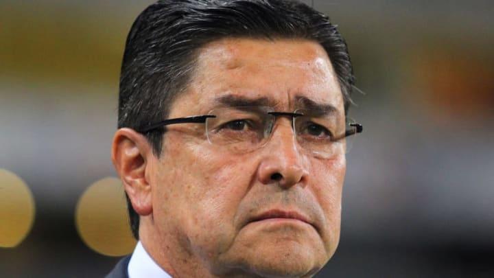 El entrenador Luis Fernando Tena.