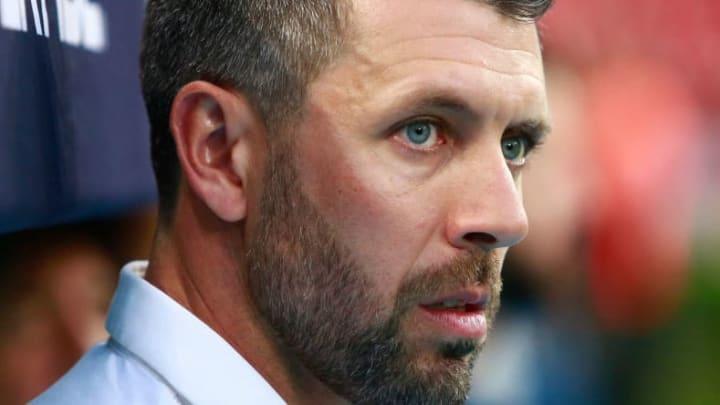 El entrenador Paulo Pezzolano.