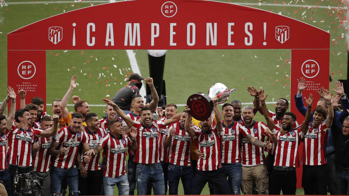 Atletico Madrid are the reigning La Liga champions