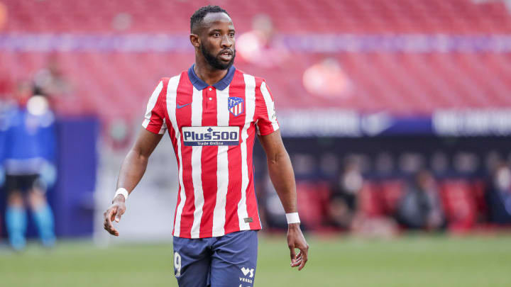 Dembele has spent the season on loan at Atletico Madrid