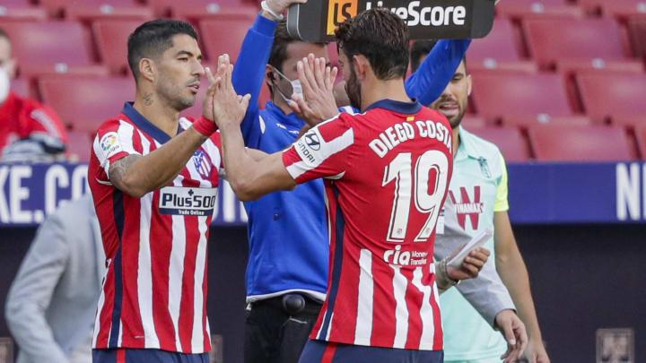 Diego Costa, Luis Suarez