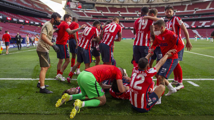 Atletico Madrid crowned La Liga champions for just the second time in 25 years