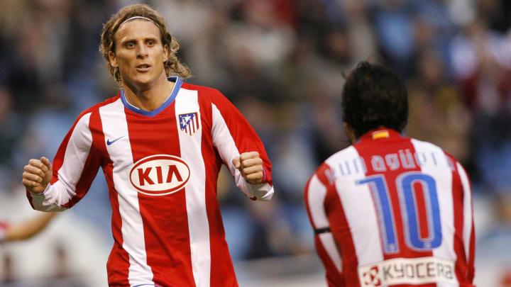 Atletico Madrid's Uruguayan Diego Forlan
