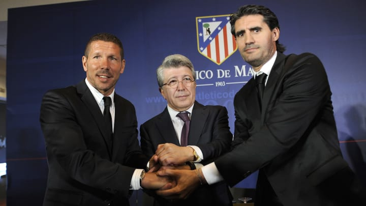 Atlético de Madrid Diego Simeone Caminero