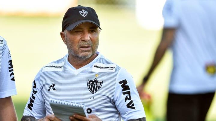 Atletico Mineiro Presents New Coach Jorge Sampaoli - Sampaoli se irá al Olympique de Marsella.