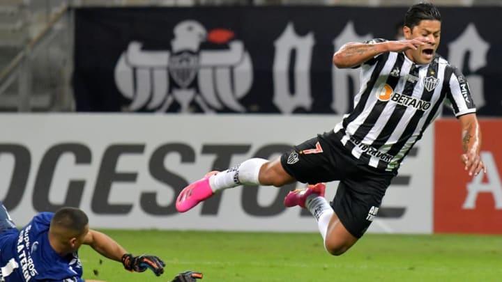 Joel Graterol Hulk Nathan Atlético-MG Galo América de Cali Libertadores