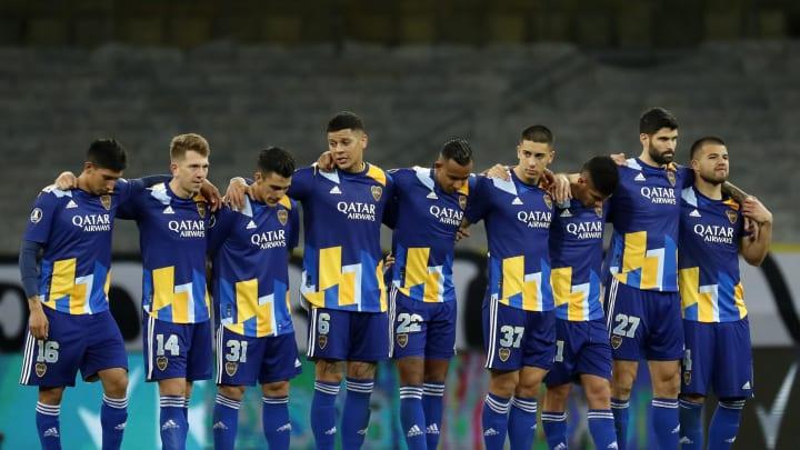 Atletico Mineiro v Boca Juniors - Copa CONMEBOL Libertadores 2021 - Boca quedó eliminado y hubo escándalo.
