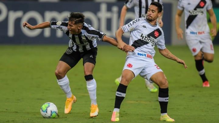 Vasco e Atlético-MG têm objetivos distintos no Campeonato Brasileiro.