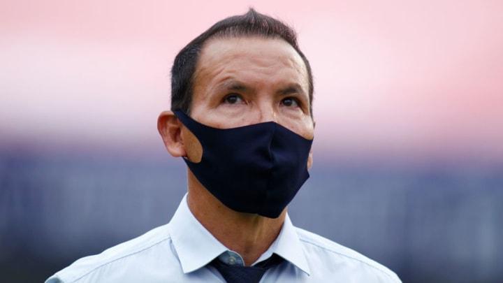José Guadalupe Cruz entrenador del Necaxa