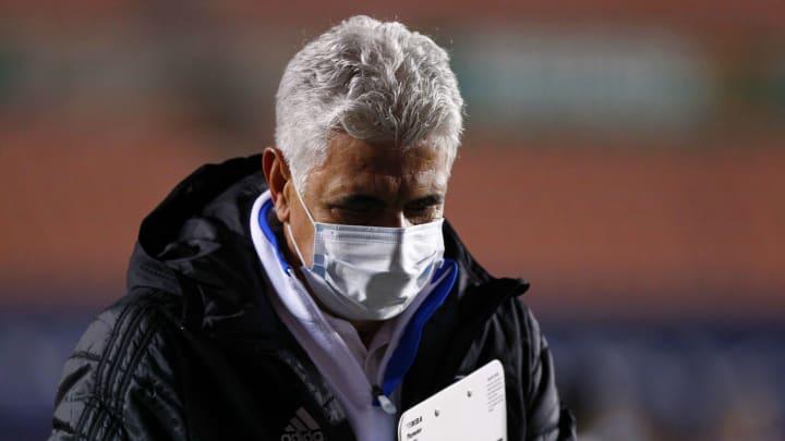 El entrenador Ricardo 'Tuca' Ferretti.