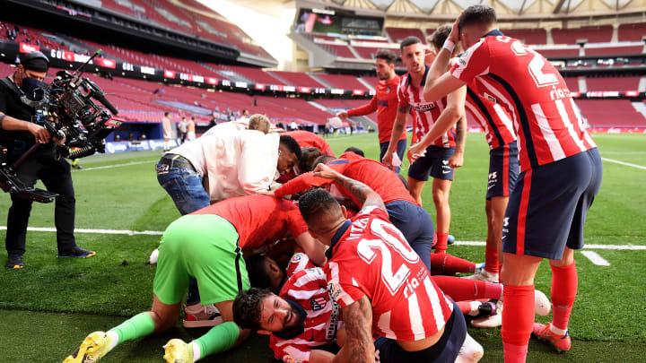 El Atlético de Madrid es líder