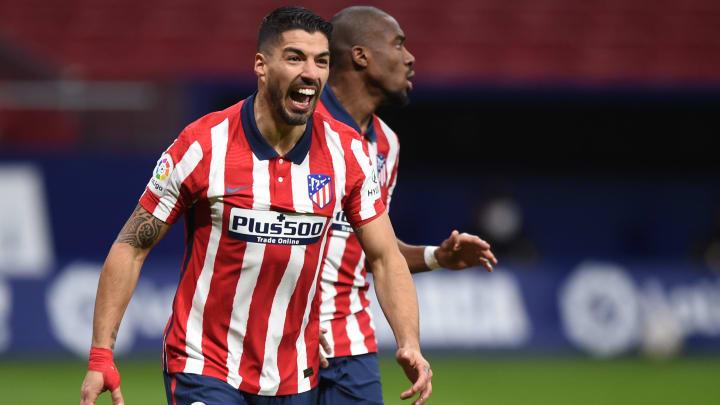 Schlug bei Atlético voll ein: Luis Suárez (hier bejubelt er seinen Doppelpack im letzten Heimspiel gegen Celta)