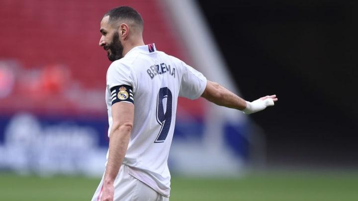 O atacante francês é um dos ídolos do Real Madrid.